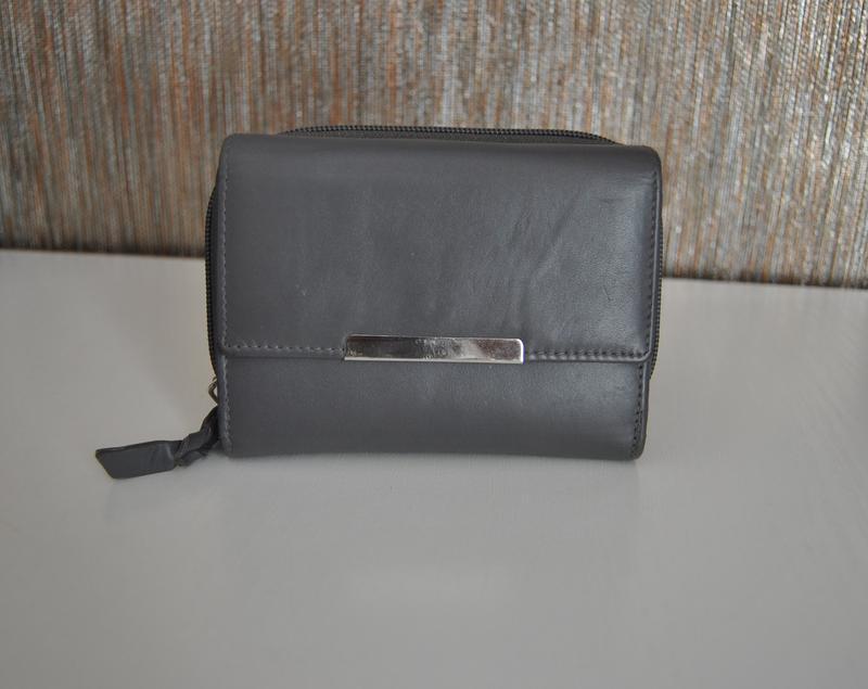 Кожаный кошелек / шкіряний гаманець - Фото 2