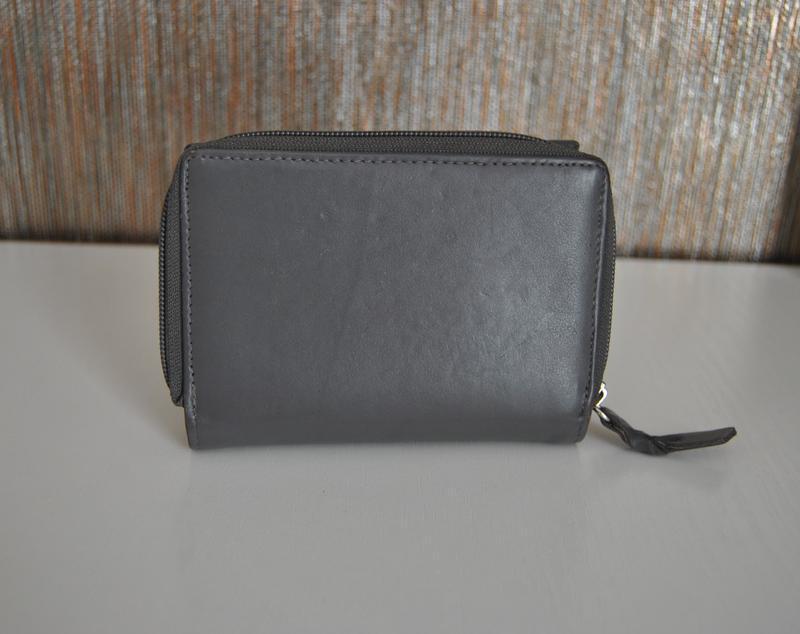 Кожаный кошелек / шкіряний гаманець - Фото 3