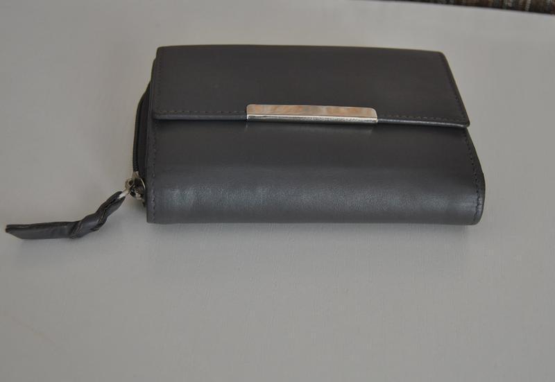 Кожаный кошелек / шкіряний гаманець - Фото 4