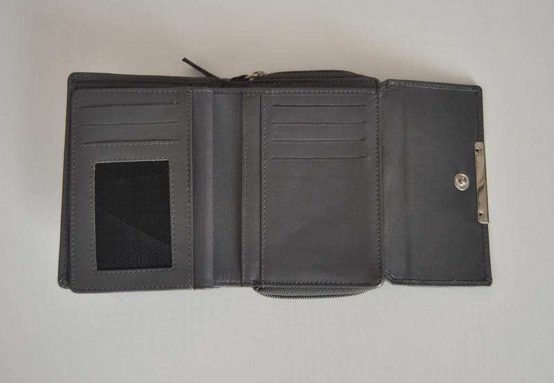 Кожаный кошелек / шкіряний гаманець - Фото 5