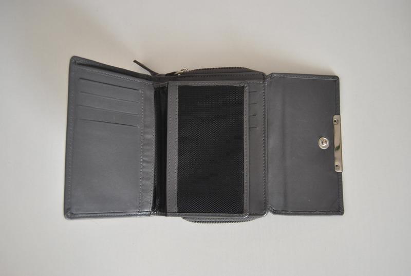 Кожаный кошелек / шкіряний гаманець - Фото 7