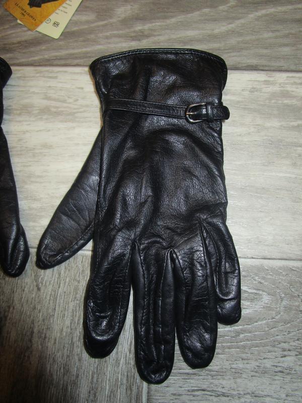 Кожаные перчатки - Фото 3