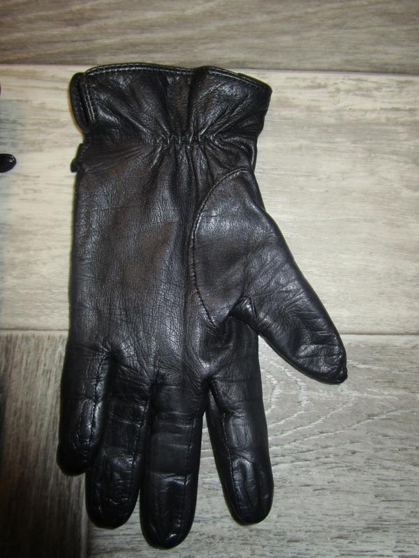 Кожаные перчатки - Фото 6
