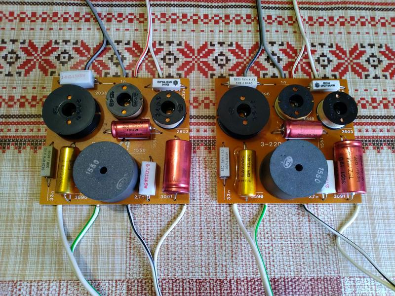 3х полосные HiFi фильтра системы Canton, до 120 Ват, под 8 Ом