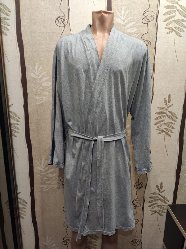 George мужской короткий трикотажный халат
