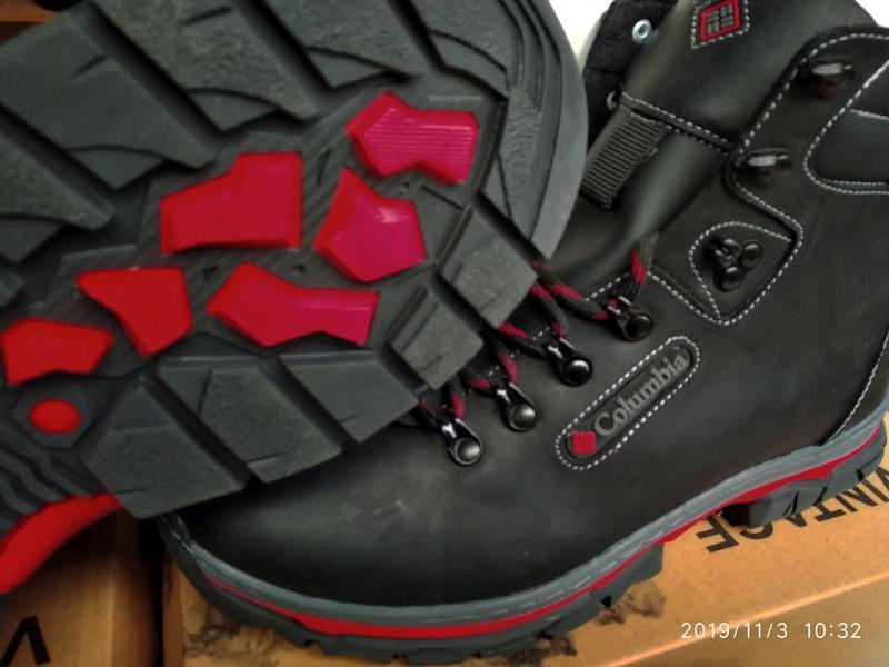 Ботинки кожаные мужские - Фото 4