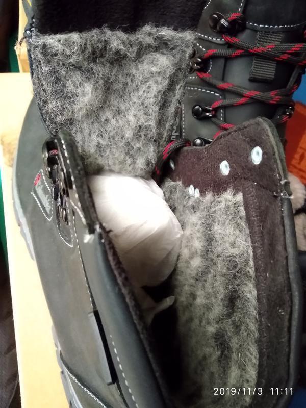 Ботинки кожаные мужские - Фото 5