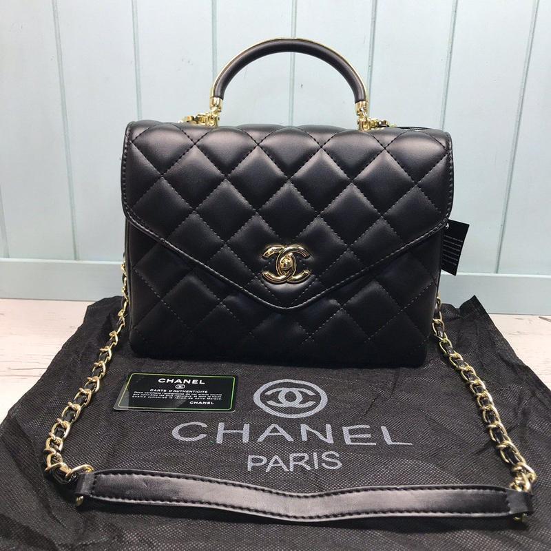 Женская маленькая сумка черная чорна через плечо плече сумочка...
