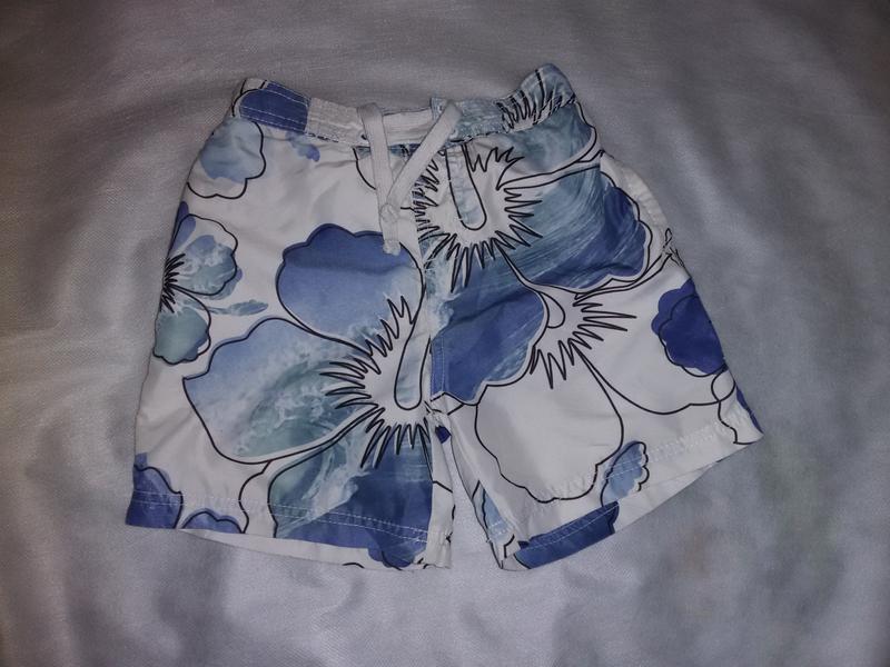 Пляжные шорты на мальчика 3-4 года