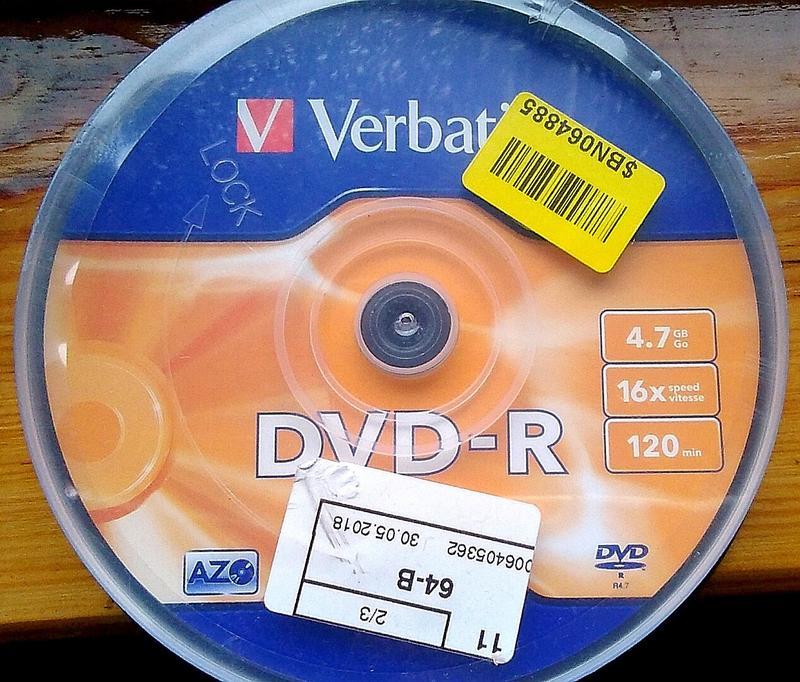 новые DVD диски