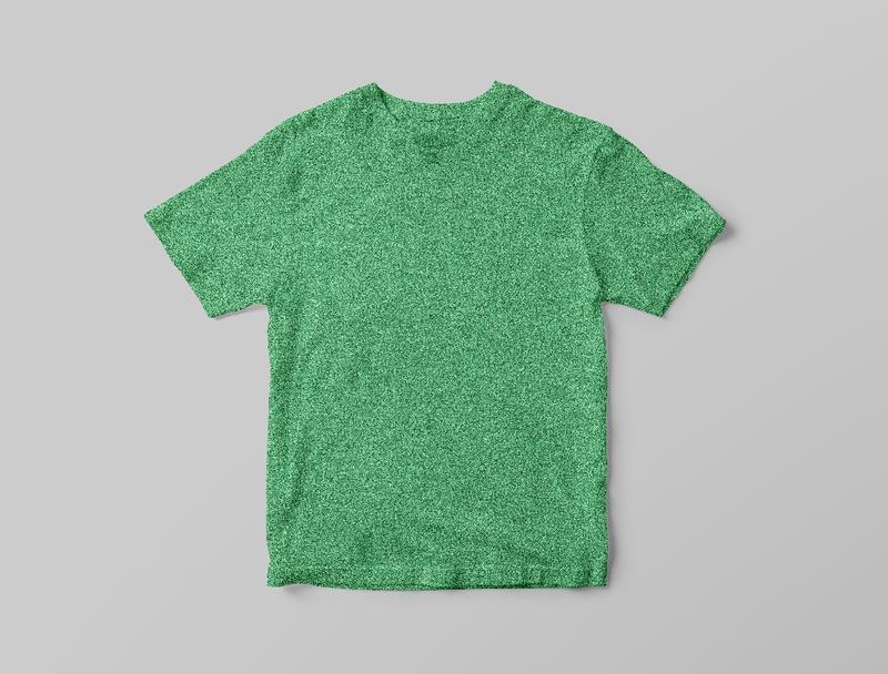 Новая детская зеленая зелёная футболка полиестер