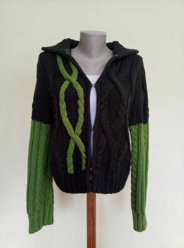 Итальянский брендовый свитер шерсть max mara - Фото 2