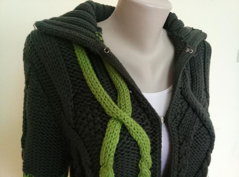 Итальянский брендовый свитер шерсть max mara - Фото 4