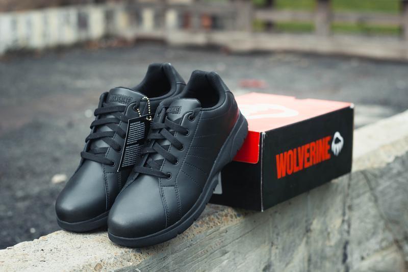 Шкіряні кросівки wolverine serve leather{оригінал}