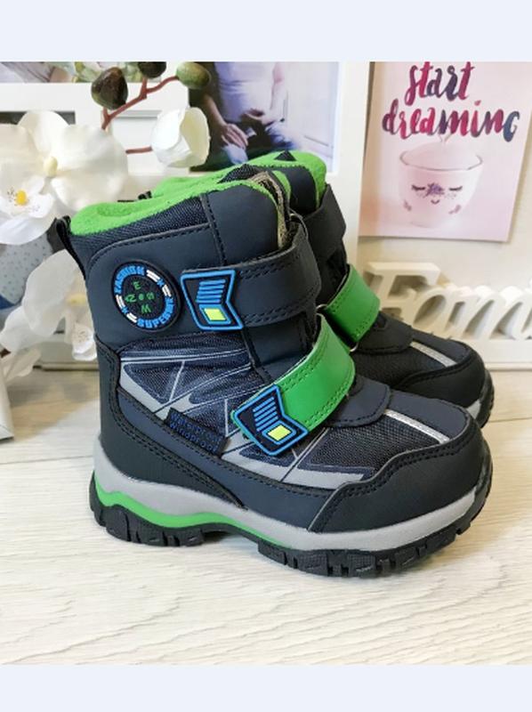 Зимние термо ботинки сноубутсы tom.m  зимние сапоги