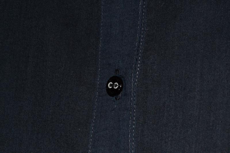 Льняная блуза armani jeans w`s linen shirt - Фото 4