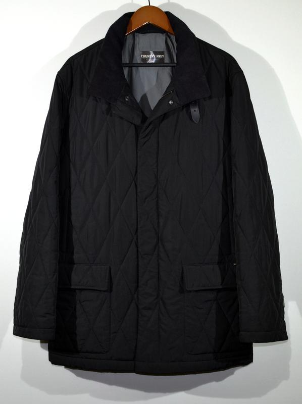 Крутая куртка люкс бренд country frey by ladenfrey quilted jac...