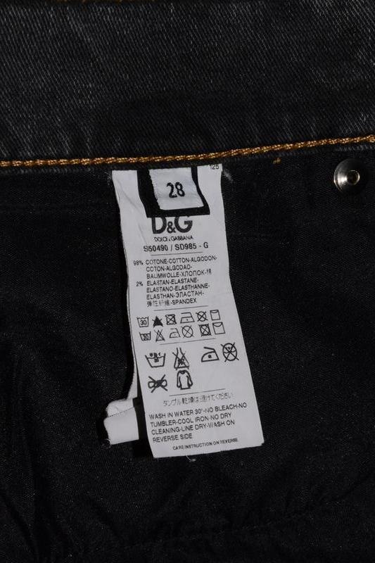 Джинсы dolce & gabanna w`s jeans - Фото 5