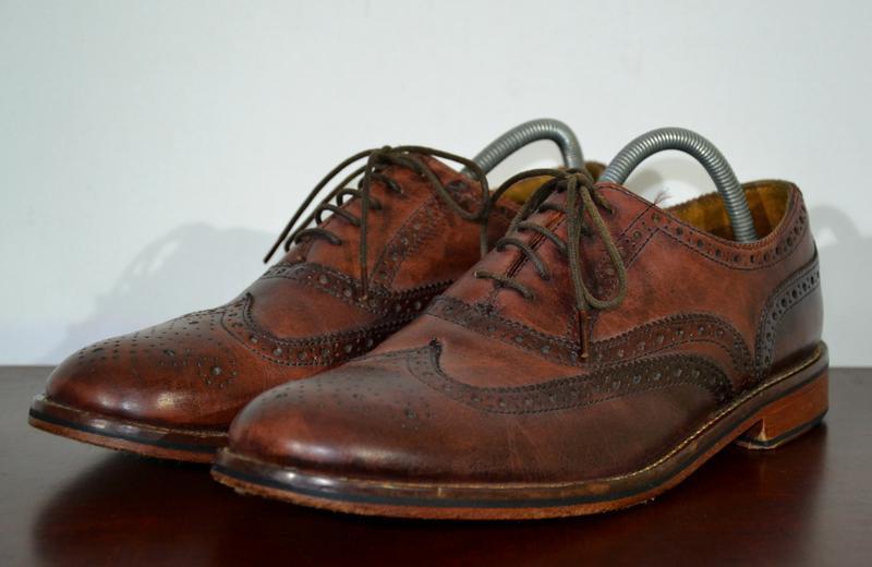Туфли броги jones bootmaker brogue