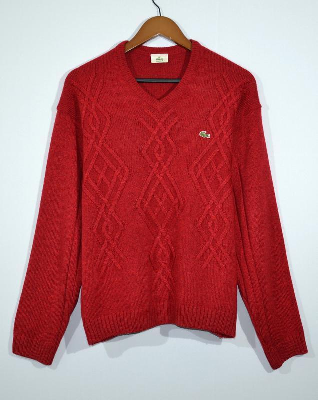 Свитер lacoste vintage jumper