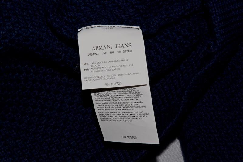 Свитер armani jeans jumper - Фото 3