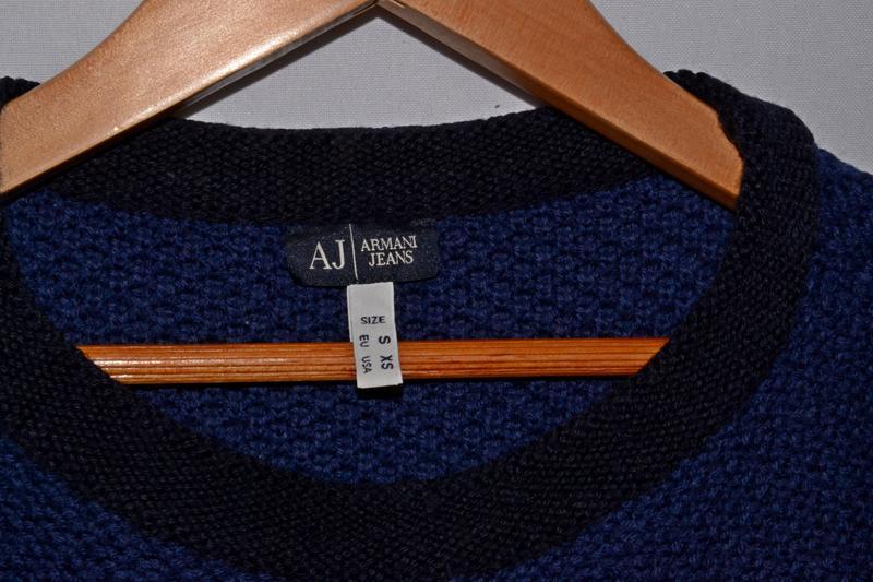 Свитер armani jeans jumper - Фото 6