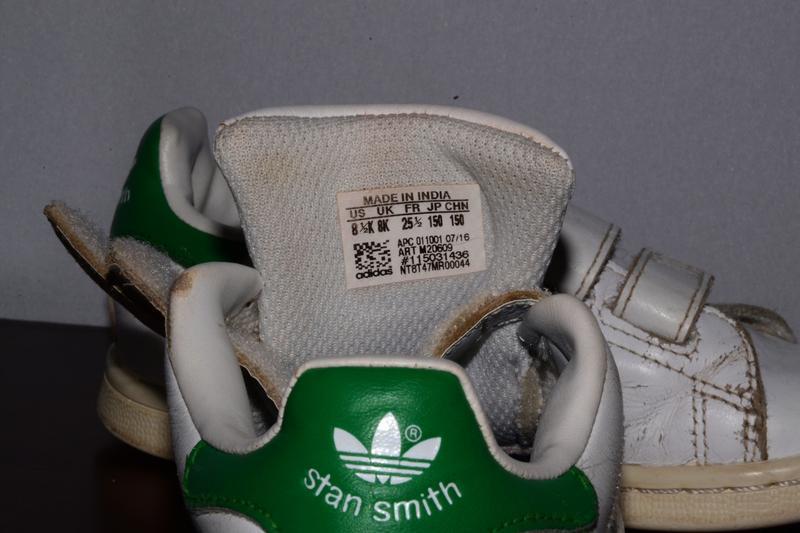 Кеды детские  adidas stan smith c's - Фото 7