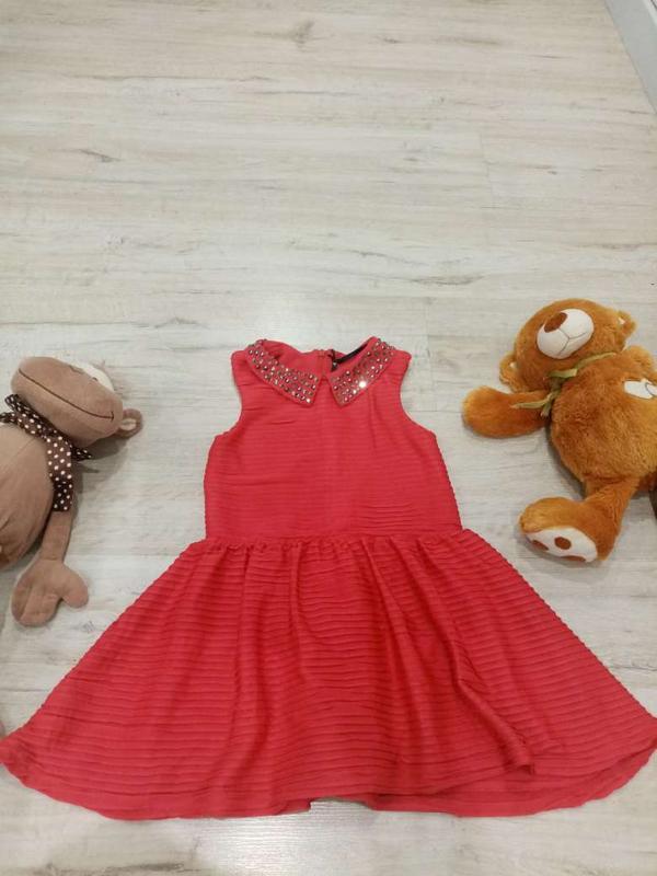 Платье на девочку некст 4-7 лет