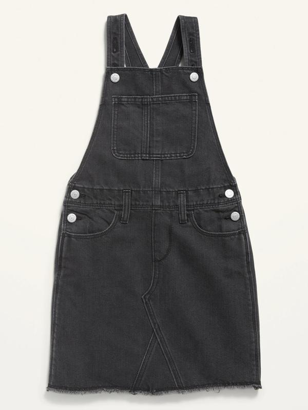 Стильний джинсовий сарафан олдневі для дівчинки