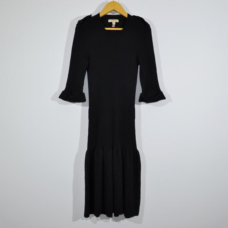 Платье кашемир burberry cashmere dress