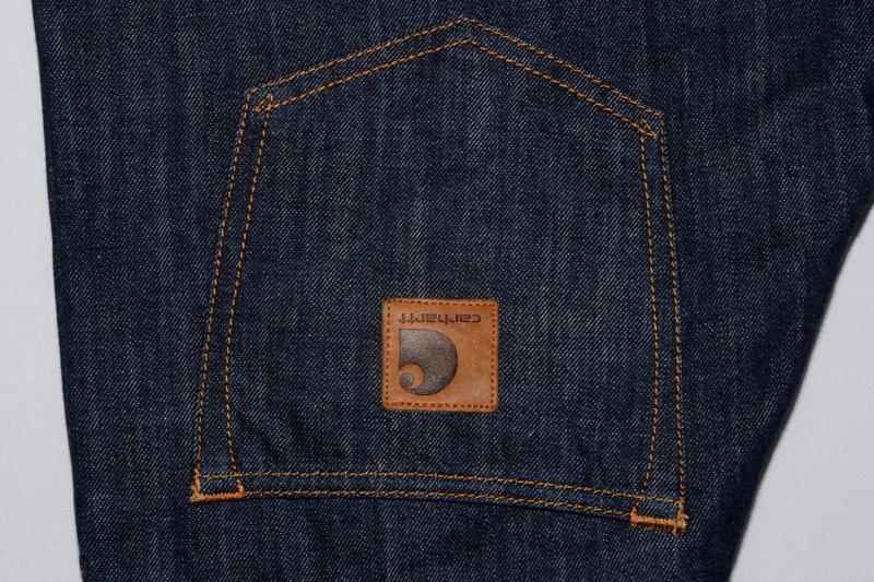 Джинсы carhartt jeans - Фото 6