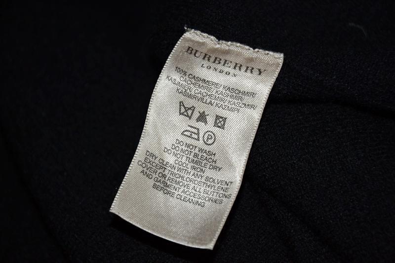 Платье кашемир burberry cashmere dress - Фото 9