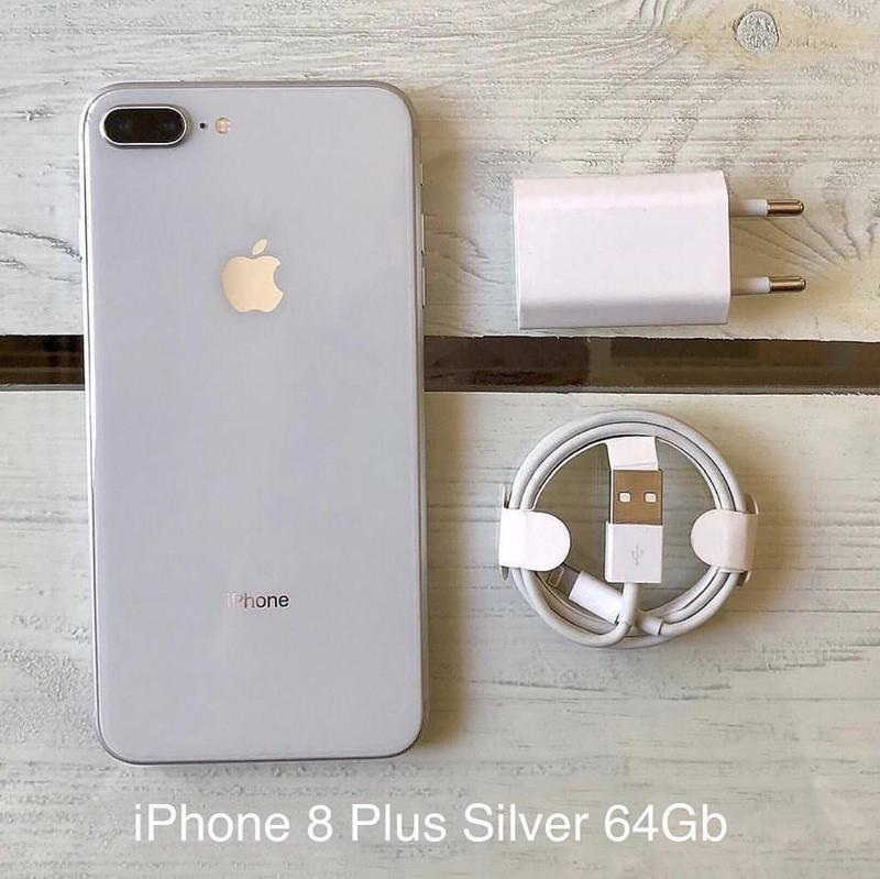 📱iPhone 8 Plus Silver 64Gb - Фото 4
