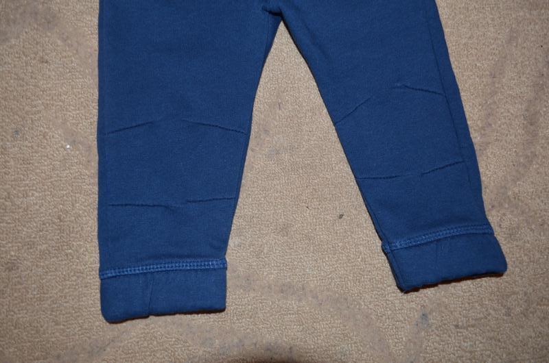 Теплые штанишки на мальчика 9-12 мес - Фото 4
