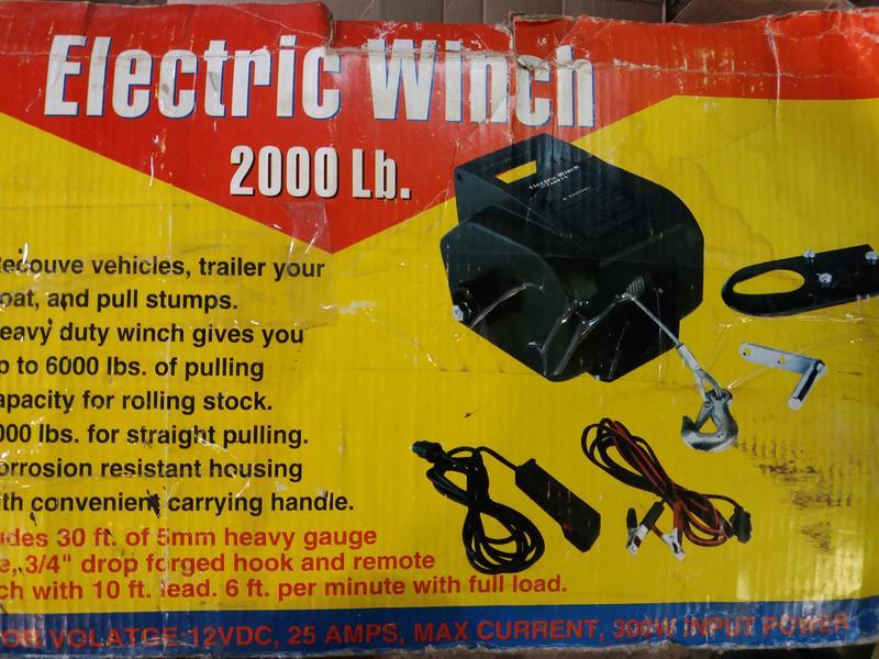 Продам электрическую лебедку - Фото 3