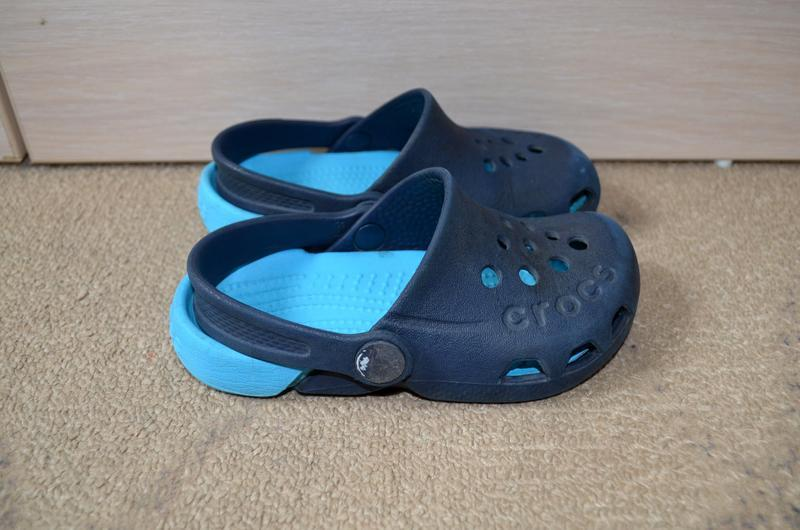 Кроксы на мальчика crocs 15 см