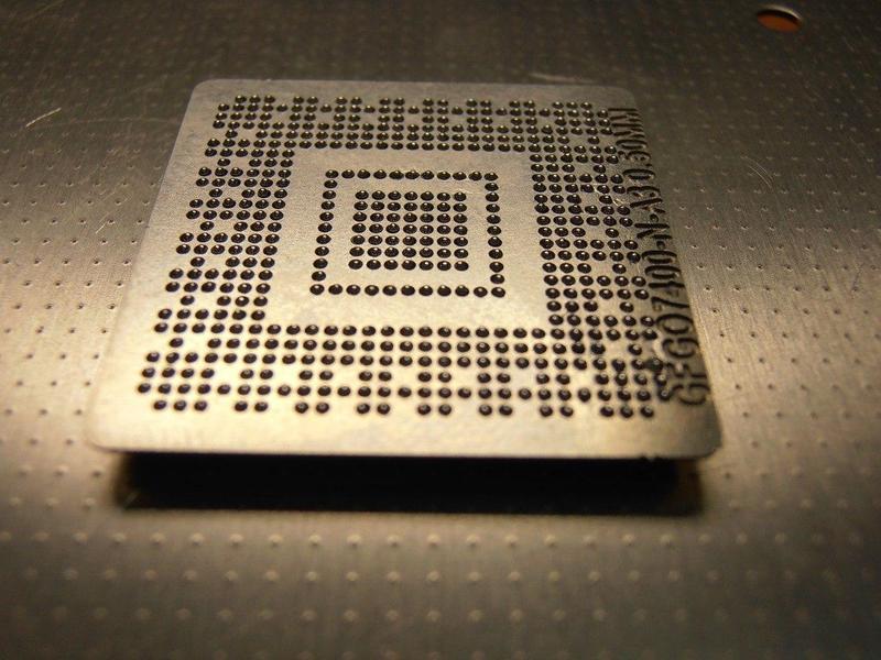 Реболлинг, ремонт плат форматирования HP 2015, 1522, 2727