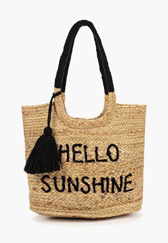 Dorothy perkins новая женская плетеная сумка шоппер пляжная