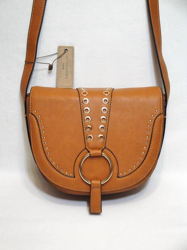 Новая красивая стильная сумка кросс-боди через плечо от польск...