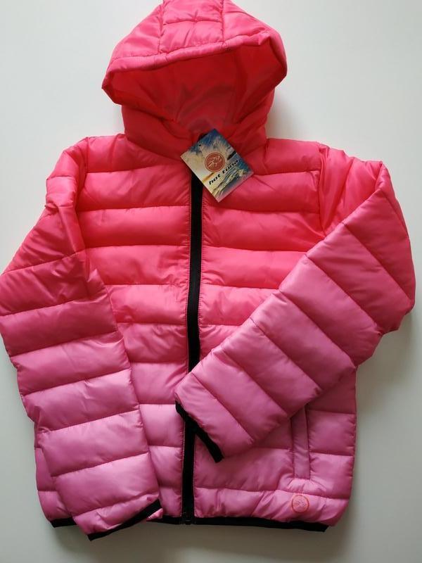 Теплая детская демисезонная куртка hot tuna