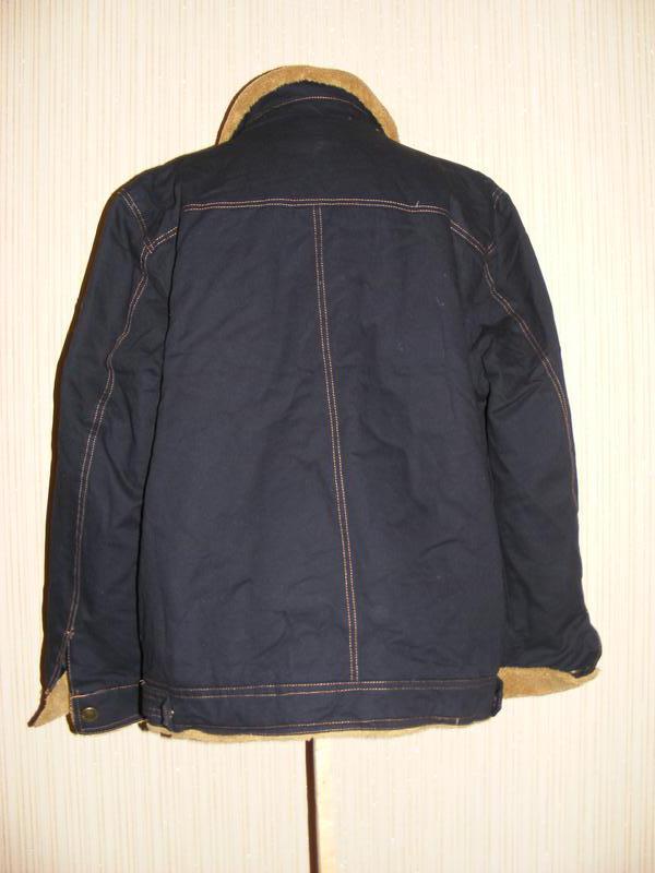 Куртка мужская весна-осень на меху на рос 175, вес 75-80 кг - Фото 2