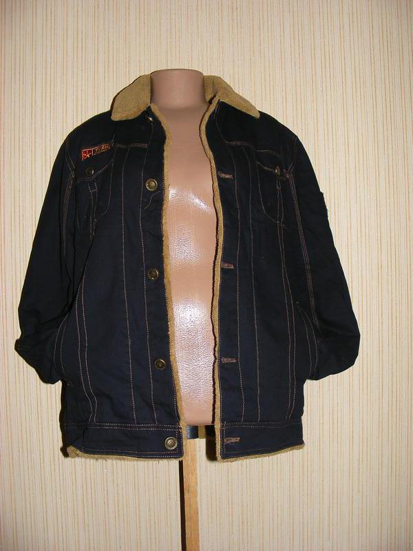 Куртка мужская весна-осень на меху на рос 175, вес 75-80 кг - Фото 6