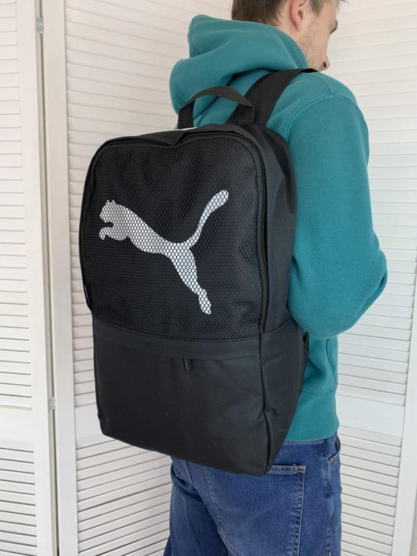 Рюкзак puma черный портфель мужской / женский