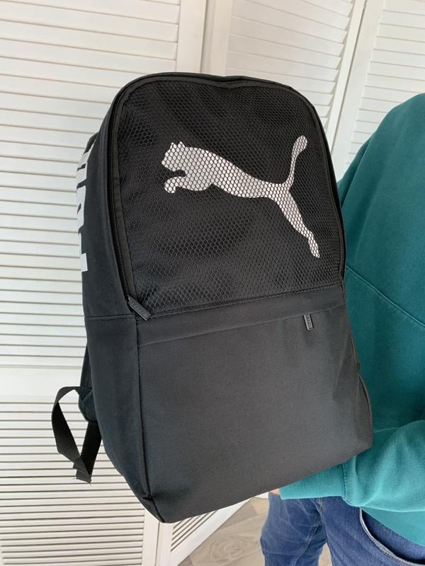 Рюкзак puma черный портфель мужской / женский - Фото 2