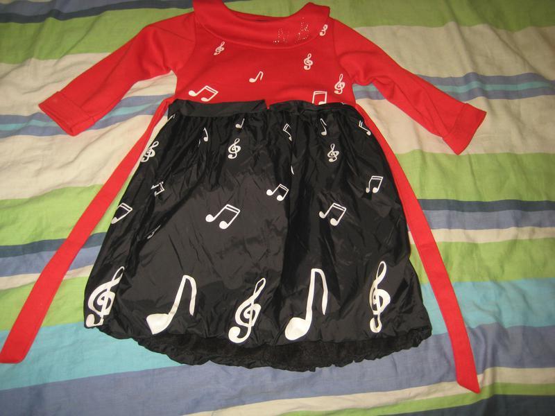 Платье демисезонное, на возраст 5-6 лет, б/у