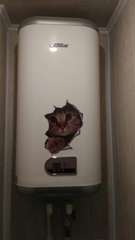 Наклейки котики номер 2 для детской комнаты - Фото 7