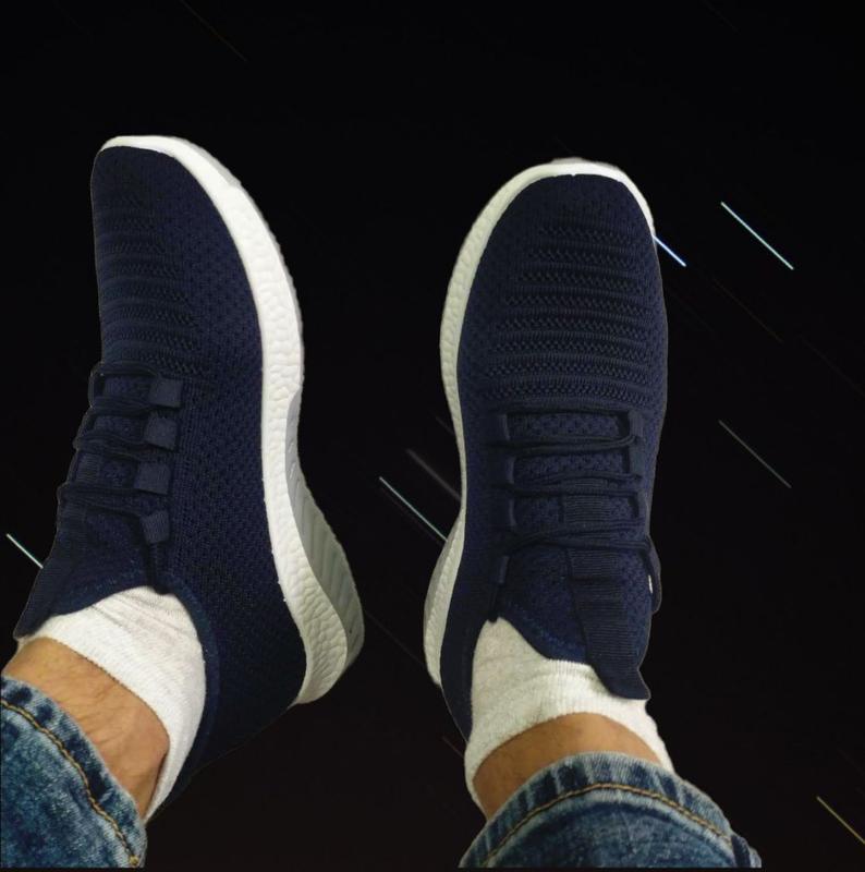 Взуття Летние Кроссовки Мужские Новые Літні Кросівки Обувь Сині