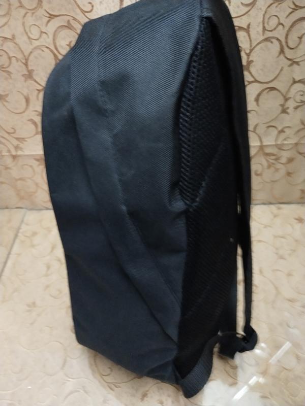 Черный молодежный, поседневний,  городской рюкзак supreme - Фото 3