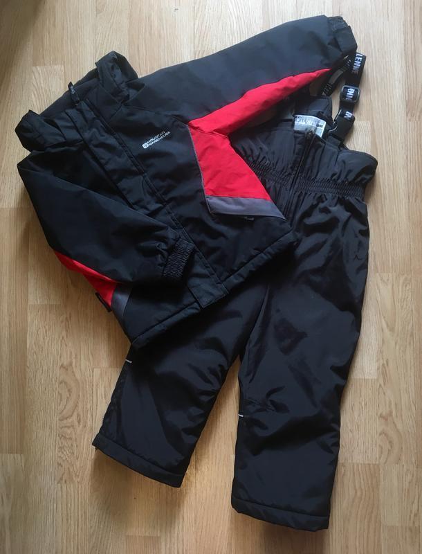 Зимний костюм, комплект, полукомбинезон  lenne и курточка moun...