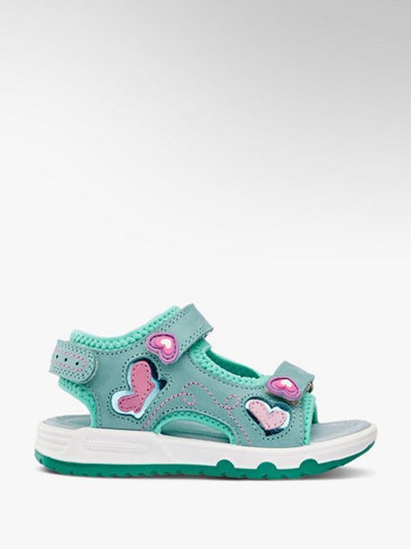 Стильные кожаные сандали, босоножки для девочки elefanten,герм...